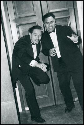 Doormen Sam and Riseti, photo: Brigid Grigg-Eyley