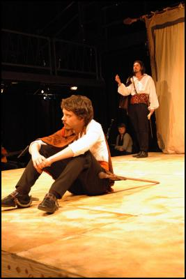 The History Of Cardenio - By William Shakespeare and John and Gary Taylor - Paul Waggot as Cardenio and Jonny Potts as Don Ferdinando