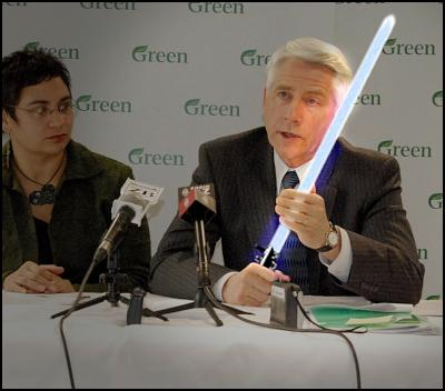 green mp kennedy graham, jedi, light saber