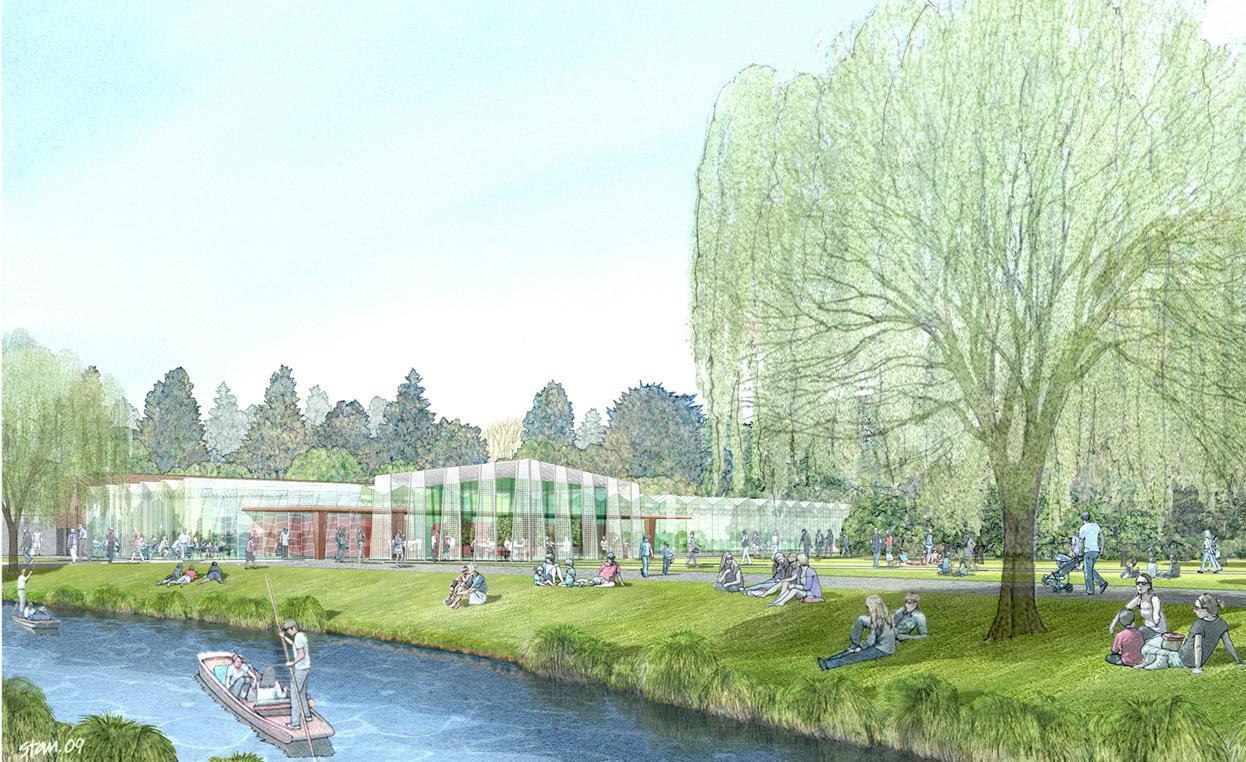 Concept design for new Botanic gardens Centre | Scoop News