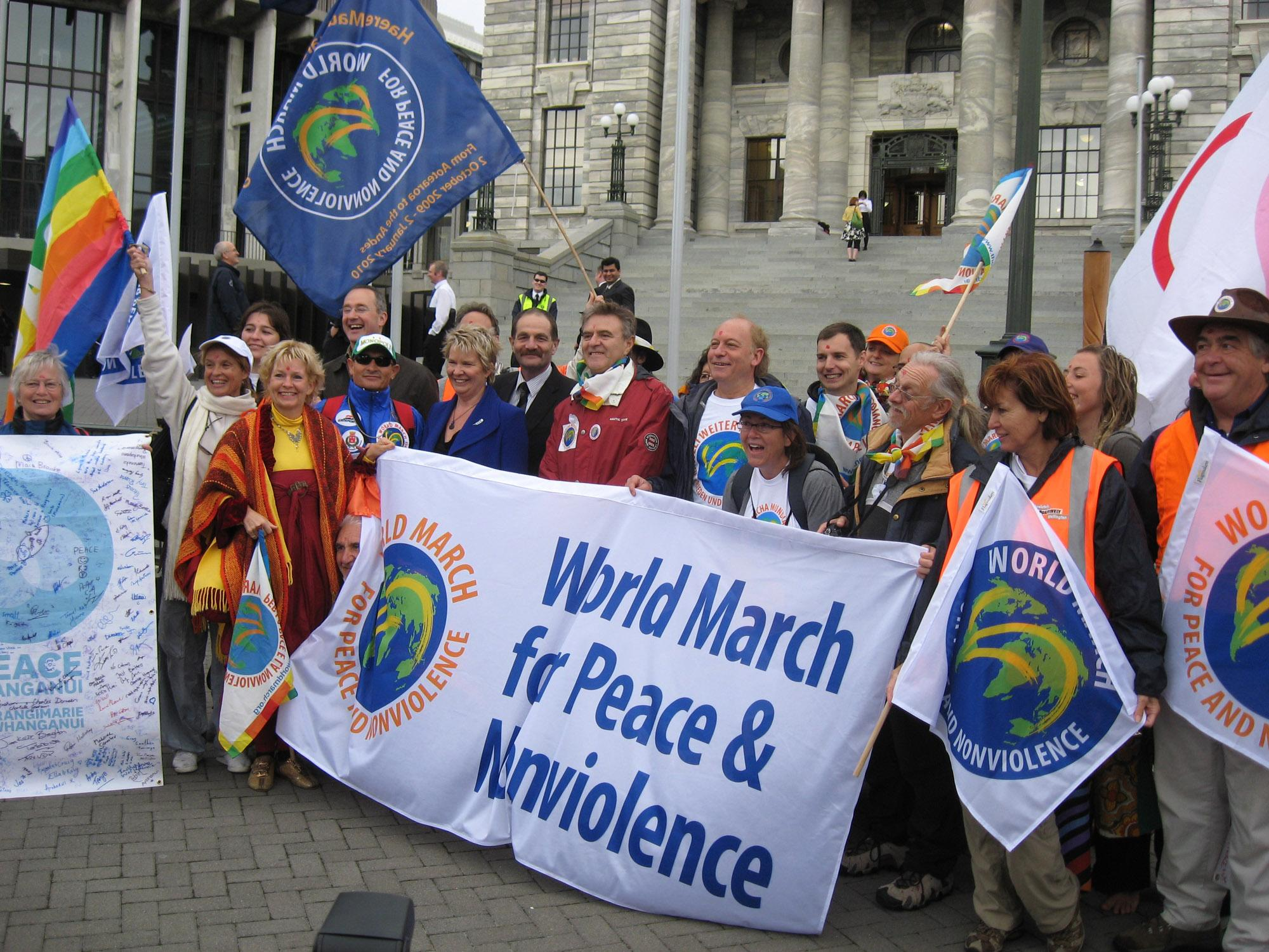 La Nueva Espiritualidad: World March for Peace Begins in ...March For Peace