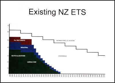 existing nz emissions trading scheme carbon credit allocation
