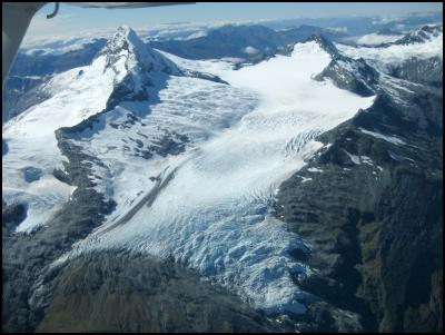 Bonar Glacier and Mt Aspiring