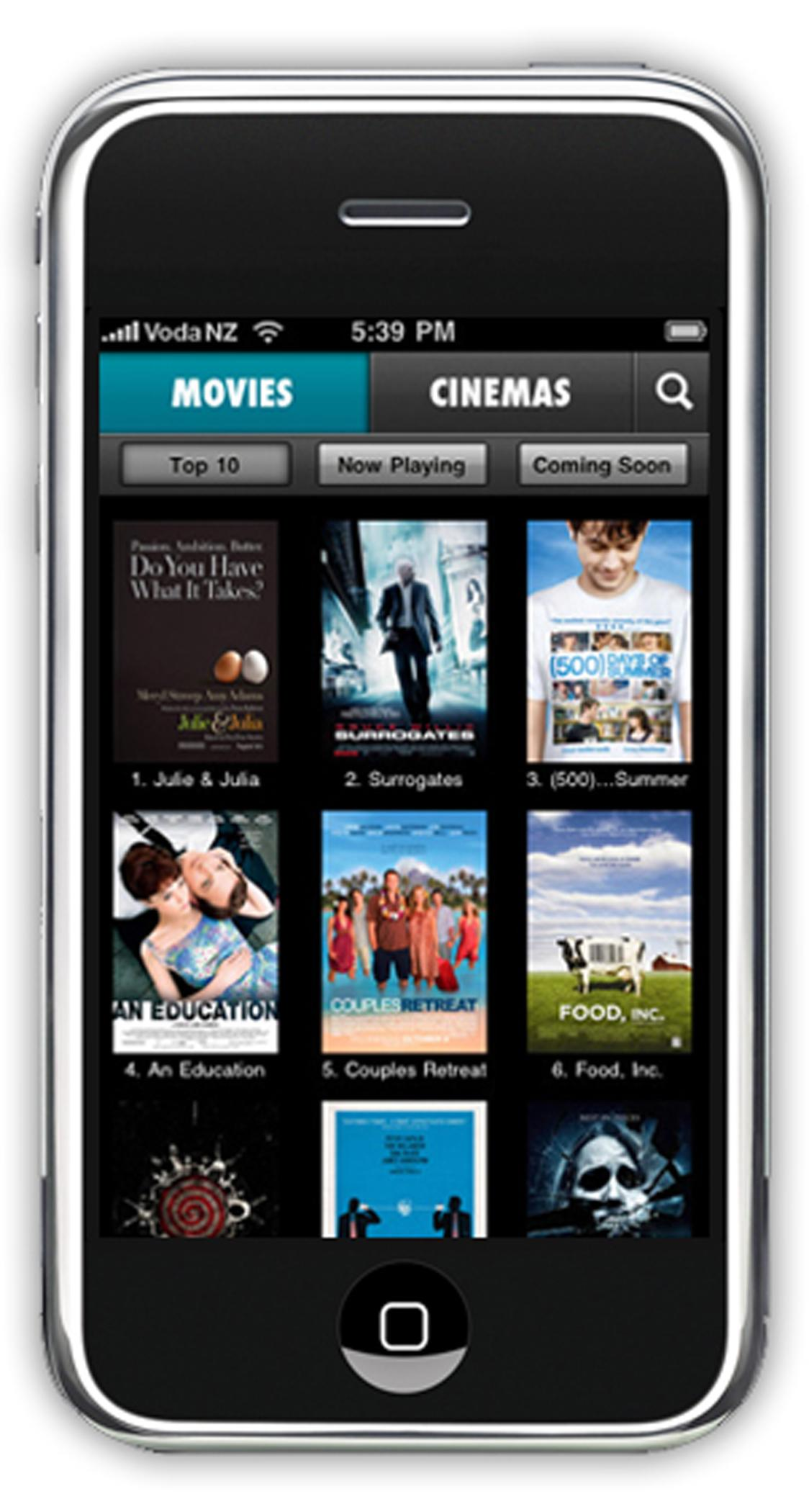 movie apps for iphone go mobile with flicks iphone app scoop news 15711