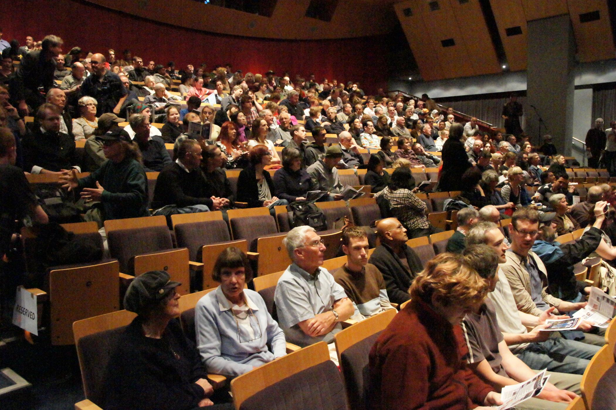 Photo of Wellington Audience