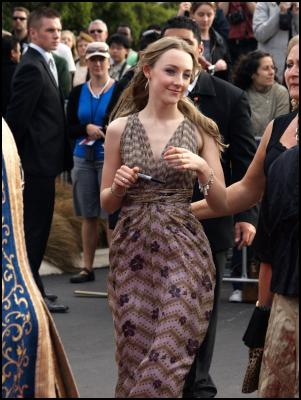 Scoop.co.nz image: The Lovely Bones Wellington Premiere Red Carpet - Saoirse Ronan ...  Susie Salmon