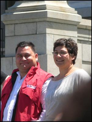 Charles Chauvel and Meteria Turei