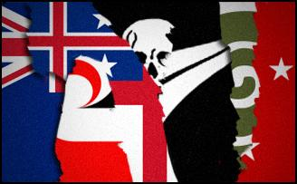 nz flags collage