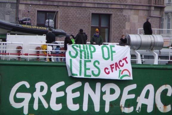 Greenpeace Protest Tactics Greenpeace Protesters