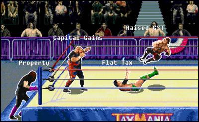 Tax wrestlemania