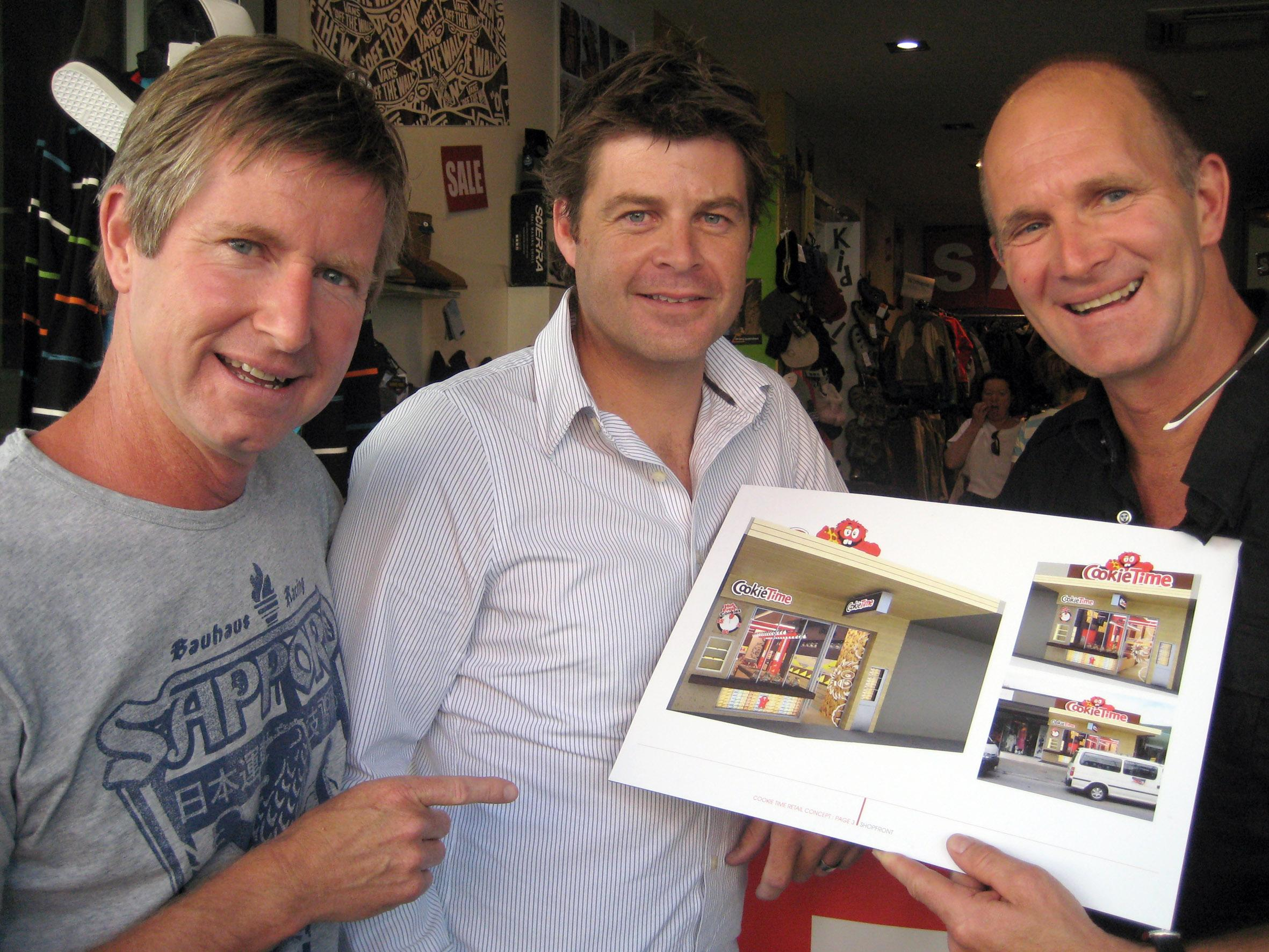 T shirt design queenstown - Cookie Time To Open Showcase Store In Queenstown