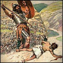 David v Goliath, Goliath wins