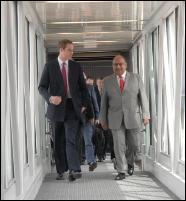 Prince William And The Governor General Anand Satyanand. Photography by Woolf – www.woolf.co.nz