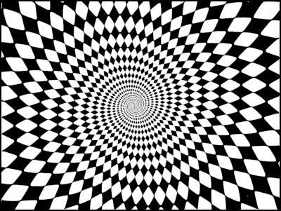 Auckland Super city logos: spiral optical illusion
