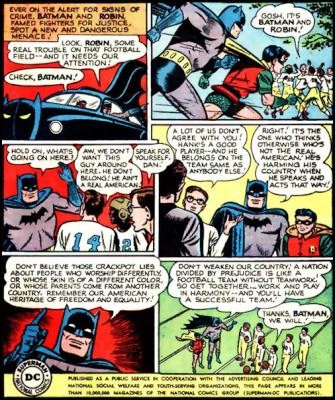 batman and robin religious tolerance muslim