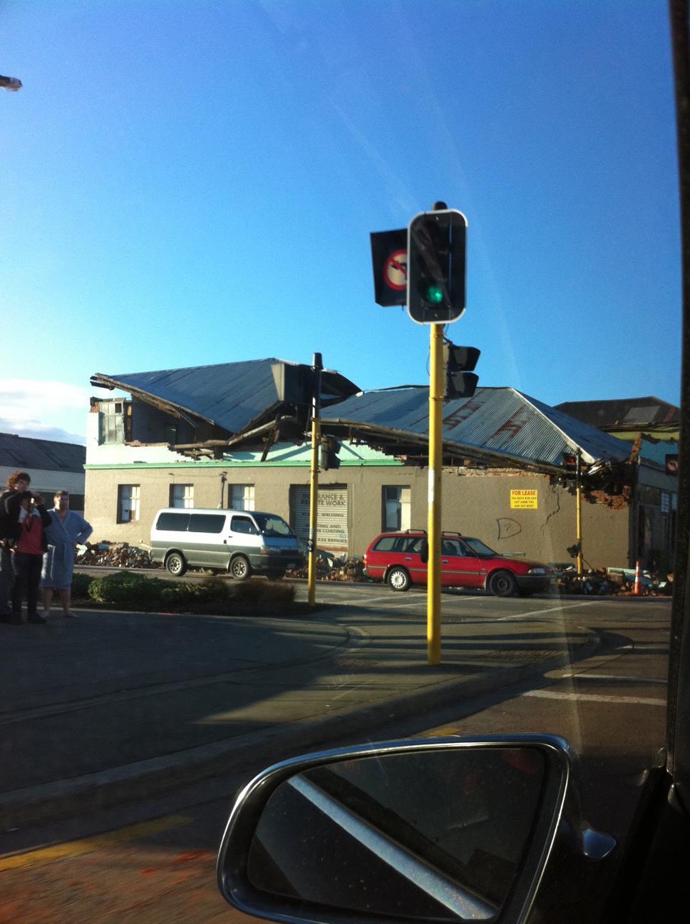 新西兰 基督城/新西兰基督城地震最新照片(组图)
