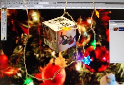 christmas decorations, computer screen, destop, scoop images, xmas lights