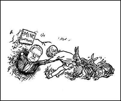 mining, Gerry brownlee, winnie the pooh, stuck in hole