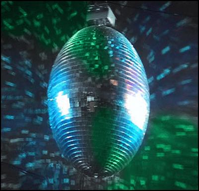 rugby world cup, rugby ball, disco ball, party, party central