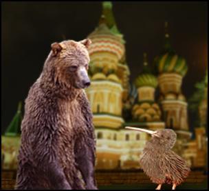 kiwi, bear, kremlin, Russia, new Zealand, free trade agreement, fta