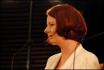 john key, julia gillard