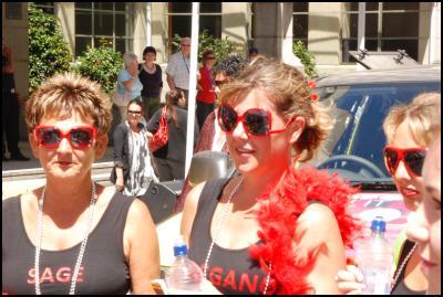 Wellington Sevens parade, sevens costumes