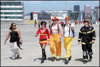 wellington sevens costume photos