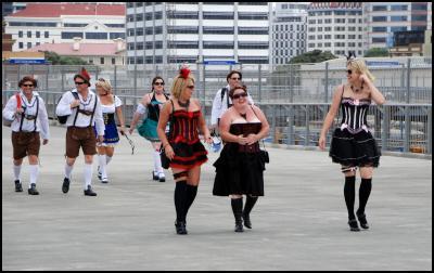 Wellington NZI Sevens Costumes 2011
