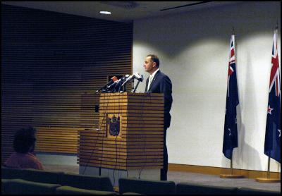 John Key press conference