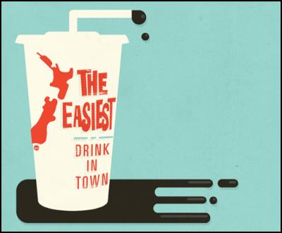 tim denee illustration – NZ and oil – the easiest drink in town