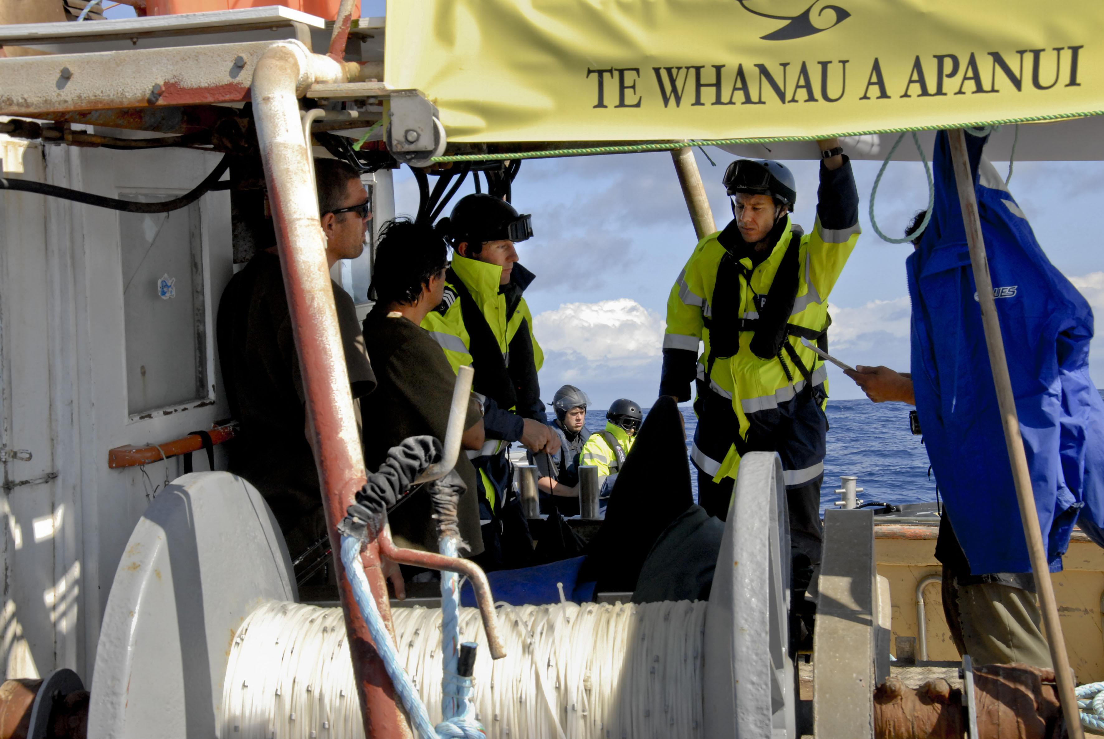 police warn crew members of