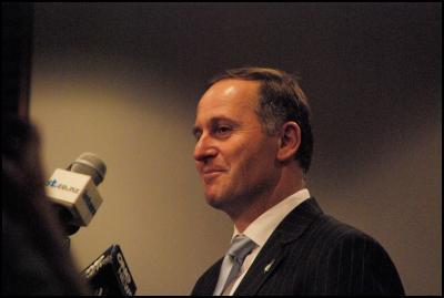 NZ Prime Minister John Key