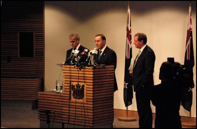 David Carter, John Key, Nick Smith