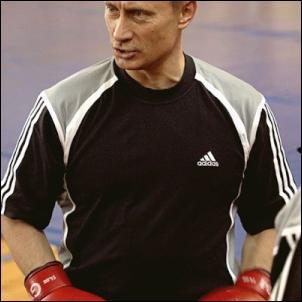 vladimir putin, black shirt, adidas, boxing, rugby