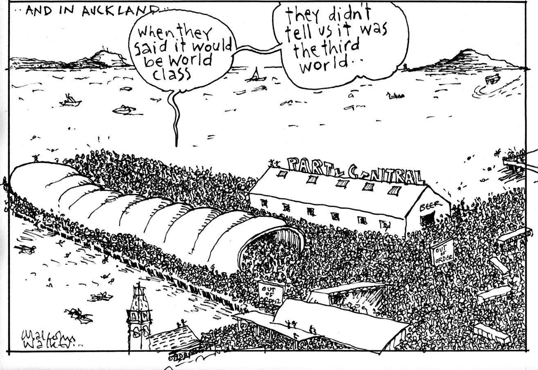 Walker Cartoonist Malcolm Walker Cartoonist