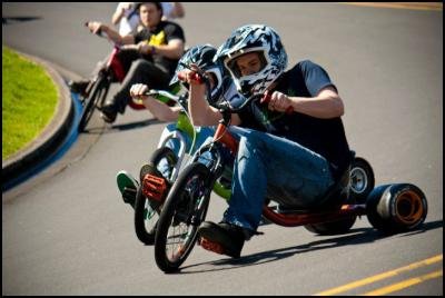 Auckland City Council Flip Flop Forces Cancellation Of Drift Trike  World Champs - Photo Credit: Matthew Markby