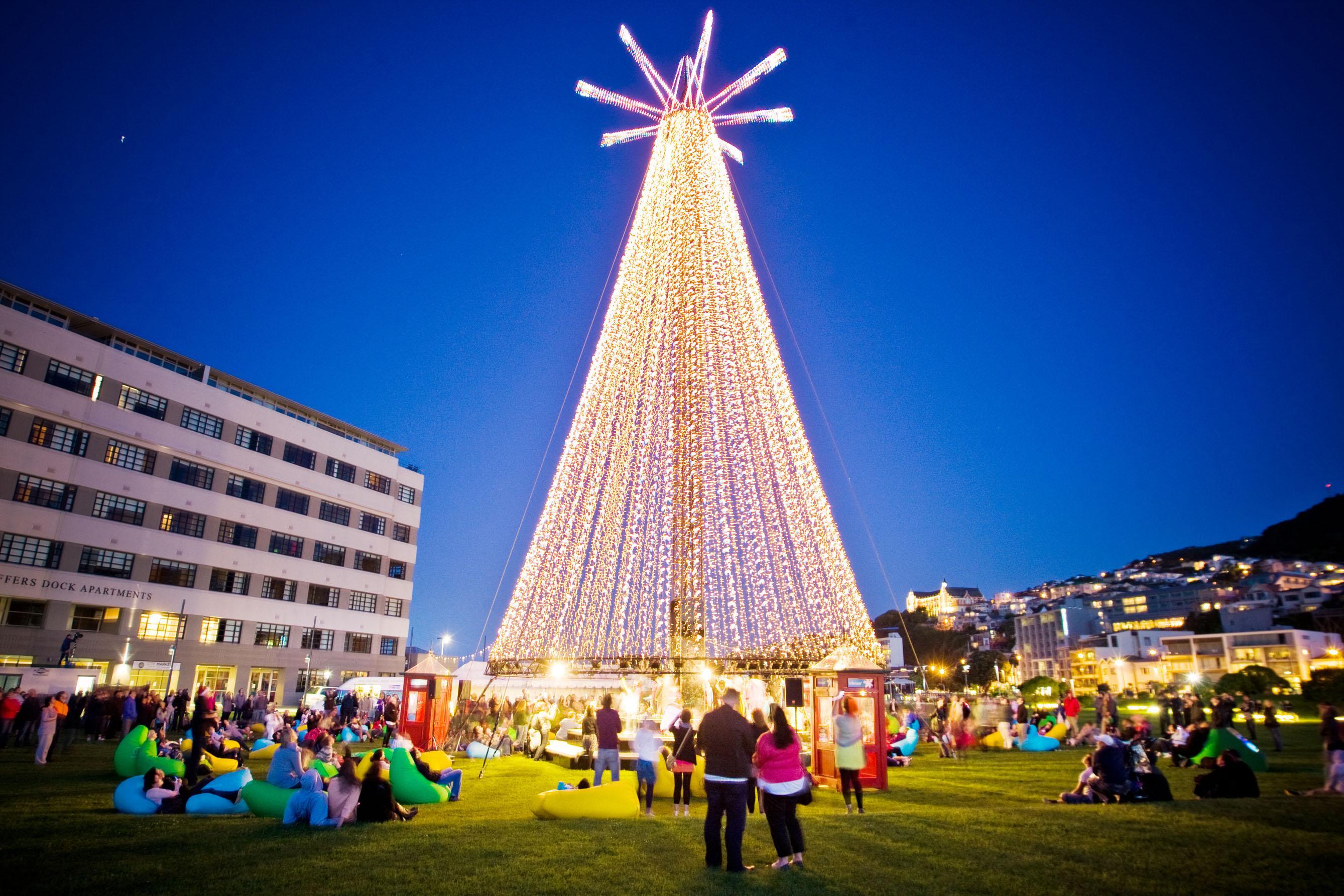 Telecom Christmas Tree