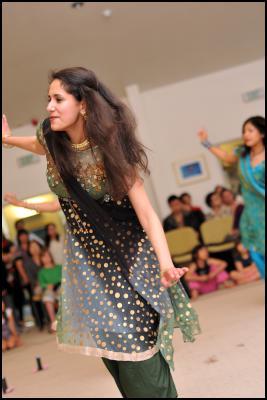Indian Dance Rehearsal