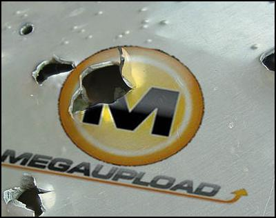 megaupload shut down by fbi, arrests, assets seized