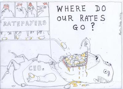 Martin Doyle Cartoon: Where Do Our Rates Go?
