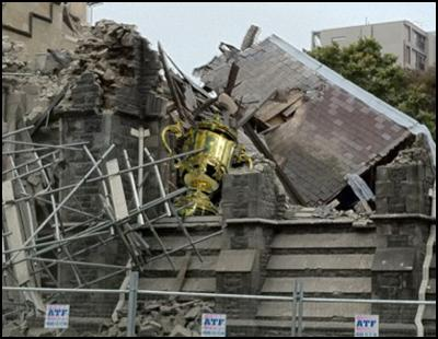 march 2011, christchurch loses rugby world cup