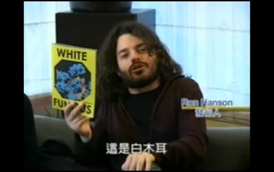 white fungus art magazine - White Fungus Editor Ron Hanson on World TV