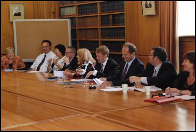 labour caucus, david shearer, grant Robertson, chris hipkins