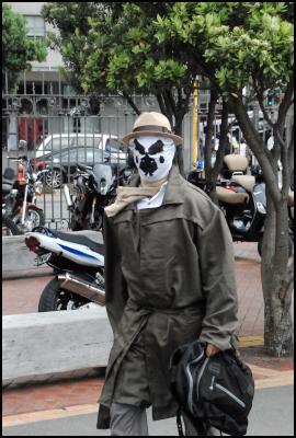 Wellington sevens 2012, sevens costumes, Rorschach (Watchmen)