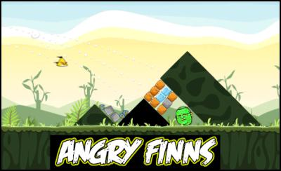 Gerry Brownlee, angry birds, Finland