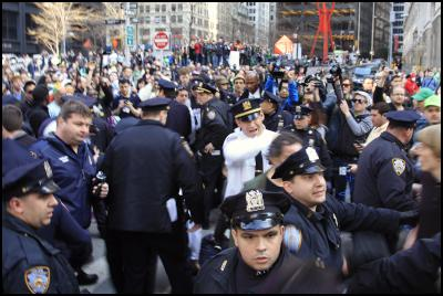 Emir Hodzic - Police violence on the anniversary of Occupy Wall Street - Zuccotti Park
