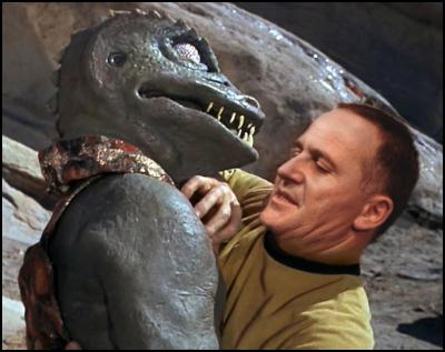 john key, star trek, captain kirk, james kirk, gorn