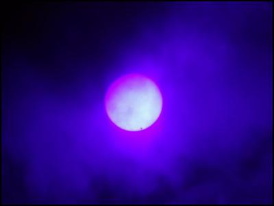 Bren Harrison: Here's a shot I just took of Venus transiting the Sun from my deck in Waterview.