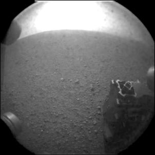 First Mars Images