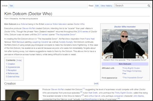 kim dotcom, doctor